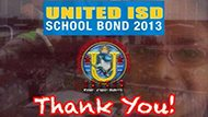 UISD Bond Than you